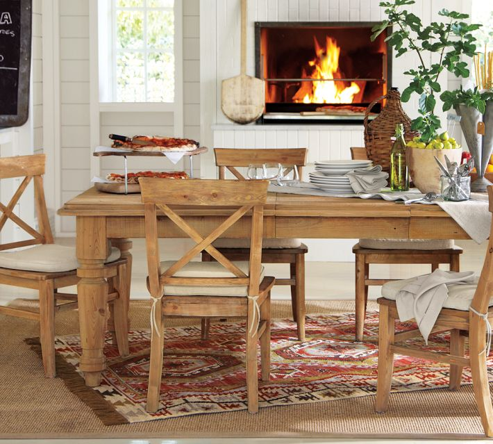 Pottery Barn Farmhouse Furniture: Great Big Farm Table